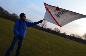 DIY Delta Kite - a Public Laboratory prototype