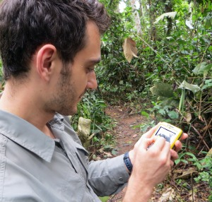Setting up GPS devices