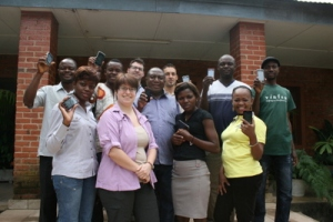 Participants in the training workshop in Kisantu