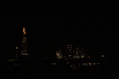 The Shard from Burgess Park